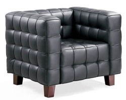 Picture of Josef Hoffmann cube chair (1910)